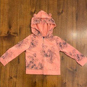 Baby Gap Toddler Girls Size 4 Zipper-down Hoodie